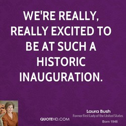 WE'RE REALLY, 