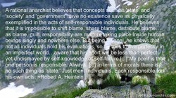 A rational anarchist believes that concepts 