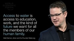 Access to water is 