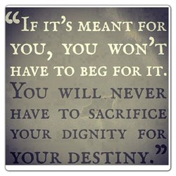 IF IT's MEANT FOR 