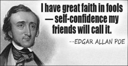 I have great falth in tools 