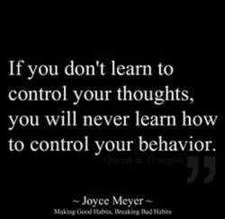 If you don't learn to 