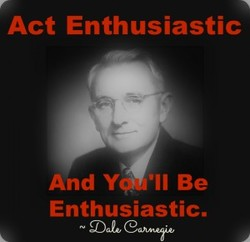 Act Enthusiastic 