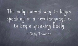 The only normal wdy to beyn 