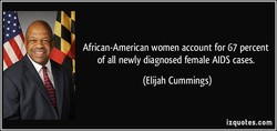 African-American women account for 67 percent 