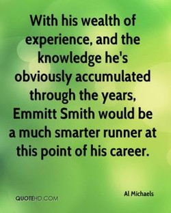 With his wealth of 