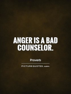 ANGER IS A BAD