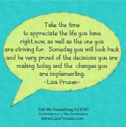 Take the time 