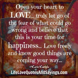 Open your hea -to 