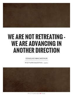 WE ARE NOT RETREATING - 
