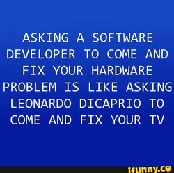 ASKING A SOFTWARE 