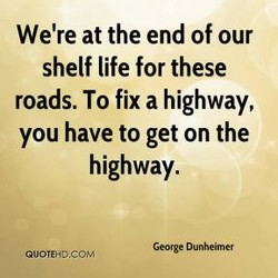 We're at the end of our 