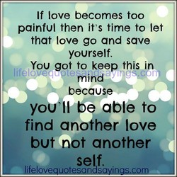 If love becomes too 