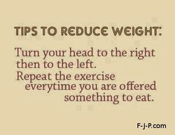 TIPS TO R€ouce WEIGHT: 