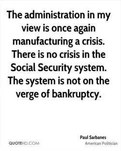 The administration in my 