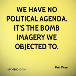 WE HAVE NO 