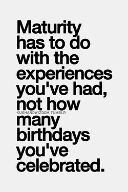 Maturitv 