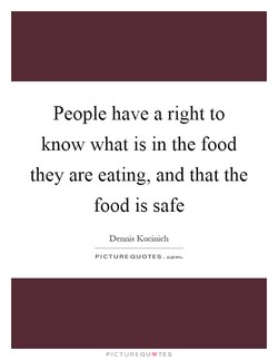 People have a right to 