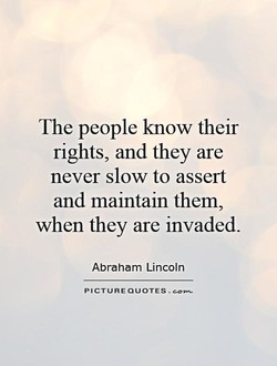 The people know their 