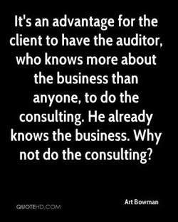It's an advantage for the 