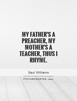 MY FATHER'S A 