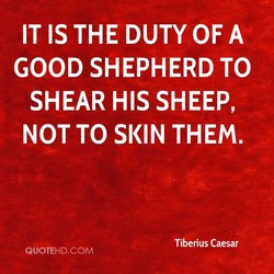 IT IS THE DUTY OF A 