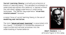 Social Learning theory is actual lu an extension or 
