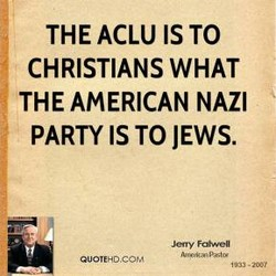 THE ACLU IS TO 