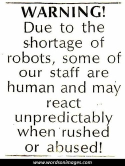 WARNING'. 
