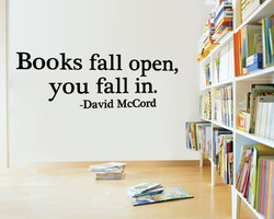 Books fall open, 