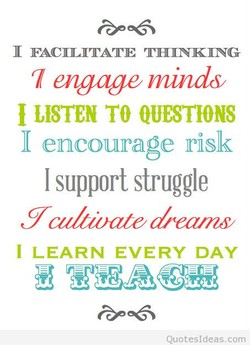 FACILITATE THINKING 