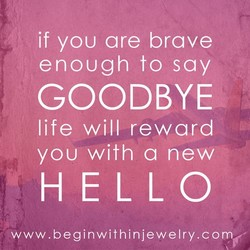 if you are brave 