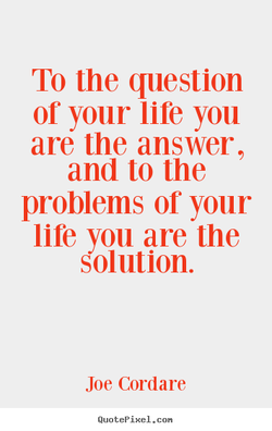To the question 