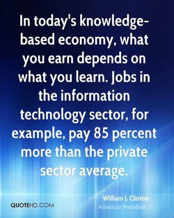 In today's knowledge-