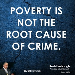 POVERTY IS 