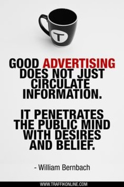GOOD ADVERTISING 