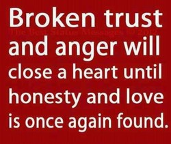 Broken trust 
