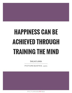 HAPPINESS CAN BE 