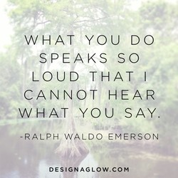 WHAT YOU DO 