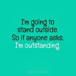I'm going to 