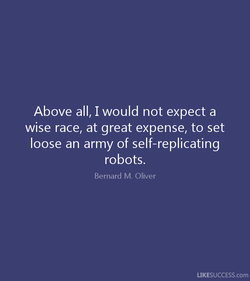Above all, I would not expect a 