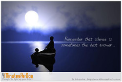 Remember silence iS 
