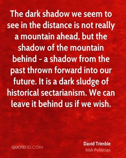 The dark shadow we seem to 