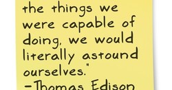 •rhe things we 