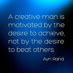 A creative man is 