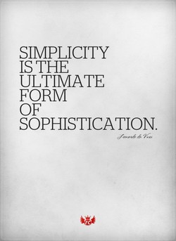 SIMPLICITY 