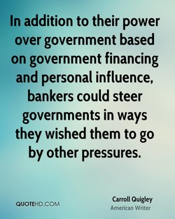 In addition to their power 