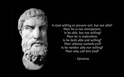 Is God willing to prevent evil, but not able? 