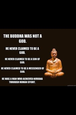 THE BUDDHA WAS NOT A 