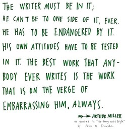 THE WKITER IN 